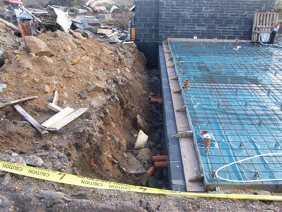 Foundations laid by RBS Groundworks